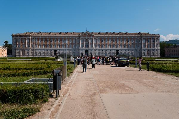 Royal Palace of Caserta, Italy, 2017