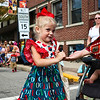 LEANDRA BEABOUT | THE GOSHEN NEWS<br /> Adalyn Joslelyn, 3, of Nappanee, is dressed for the occasion at the Nappanee Apple Festival.
