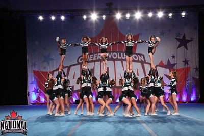 Cheer Sport Silvertip Sharks Lg Jr 4 R2
