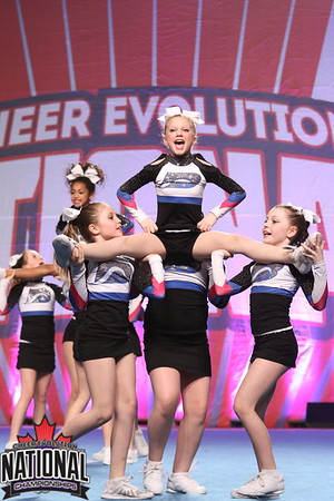 Bluewater Cheer Athletics Frost Sm Yth AAA 2 R2