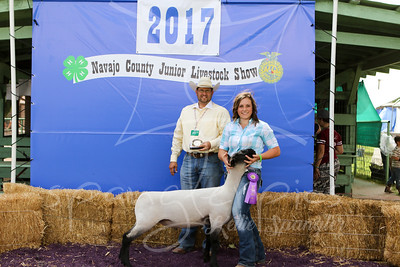 Grand Champion Lamb Cameria Reidhead & Sr Showman