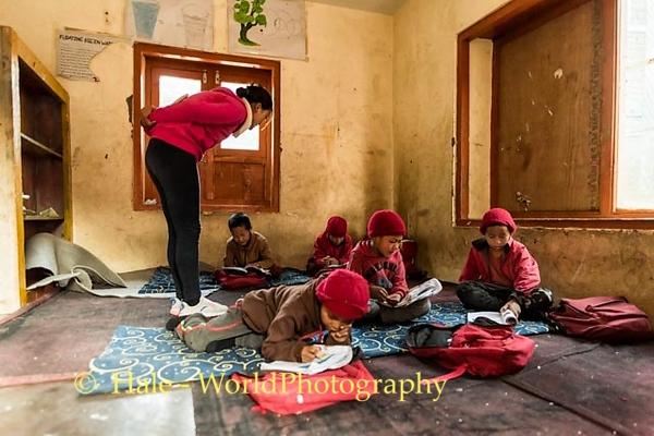 English Class in Kagbeni, Nepal