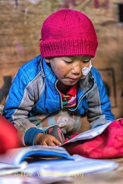 Studying English In Kagbeni, Nepal