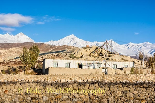 Lo Manthang Early Morning Landscape