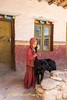 Young Monk and Dog