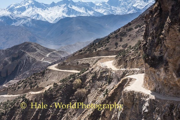 Upper Mustang Road - A Long and Windy Road