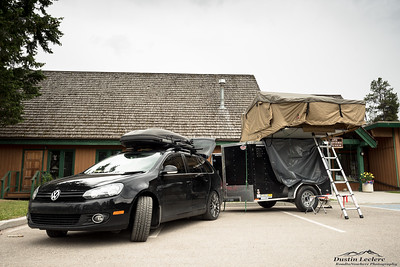 Tepui Tents providing nap time accommodations in Jasper.