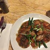 Chicken marsala at Cyrano's