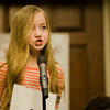 Jordan Blanchard, from Crocker Elementary School, competes in the 2017 North Central Massachusetts Regional Spelling Bee, sponsored by the Sentinel & Enterprise, at the DoubleTree by Hilton Hotel in Leominster on Tuesday, March 21. SENTINEL & ENTERPRISE / Ashley Green