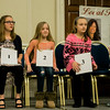 Spellers take to the stage prior to the 2017 North Central Massachusetts Regional Spelling Bee, sponsored by the Sentinel & Enterprise, at the DoubleTree by Hilton Hotel in Leominster on Tuesday, March 21. SENTINEL & ENTERPRISE / Ashley Green