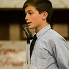 Thomas Smith, from the Immaculate Heart of Mary School, competes in the 2017 North Central Massachusetts Regional Spelling Bee, sponsored by the Sentinel & Enterprise, at the DoubleTree by Hilton Hotel in Leominster on Tuesday, March 21. SENTINEL & ENTERPRISE / Ashley Green