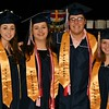 Elisha Bouchard, Rachel Record, Matthew Tumber and Olivia Flanagan were the Officers of National Honor Society and all Graduated with the North Middlesex HS Class of 2017.  Sentinel & Enterprise/ Jim Fay