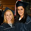 Victoria Roux and Kelsey Vanvoorhis Graduated from North Middlesex HS on Friday evening.  Sentinel & Enterprise/ Jim Fay