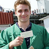 Stacey Diamond | The Goshen News<br /> Tyler Ponciroli of Middlebury was one of the graduates at Northridge High School Sunday.