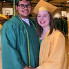 Stacey Diamond | The Goshen News<br /> Joshua Solis and Lillianne Rissot were two of the 310 graduates at Northridge High School Sunday afternoon.