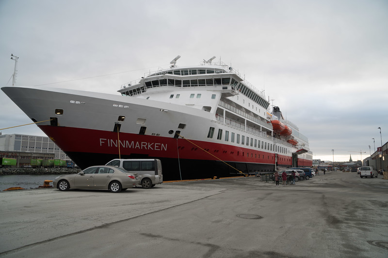 Docked in Tronheim