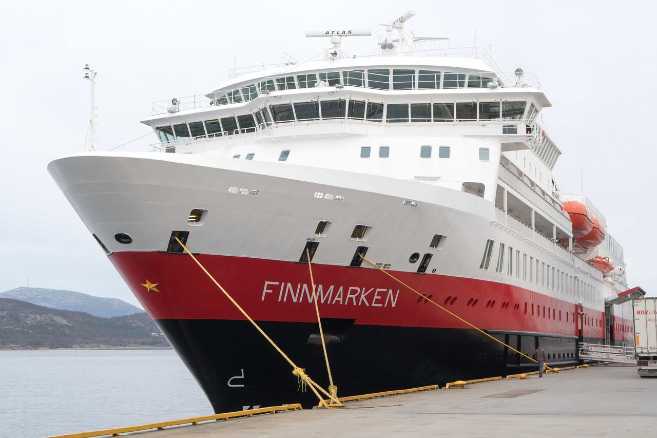 Docked in Alesund