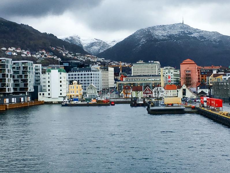 Docking Back in Bergen