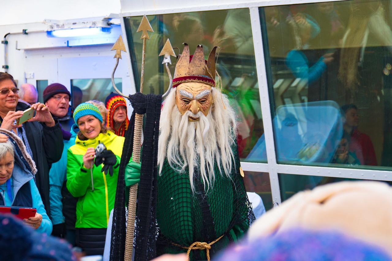 Celebration - Crossing the Arctic Circle