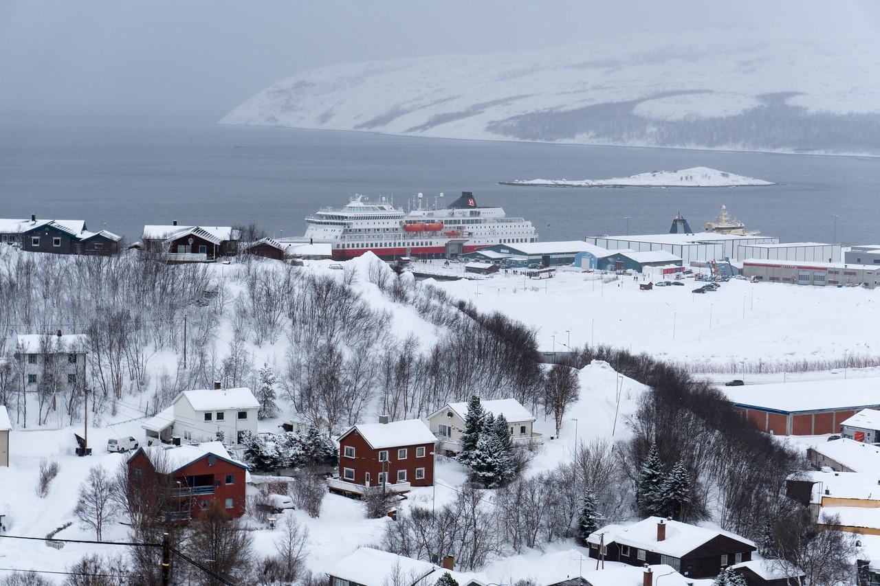 Docked in Kirkenes