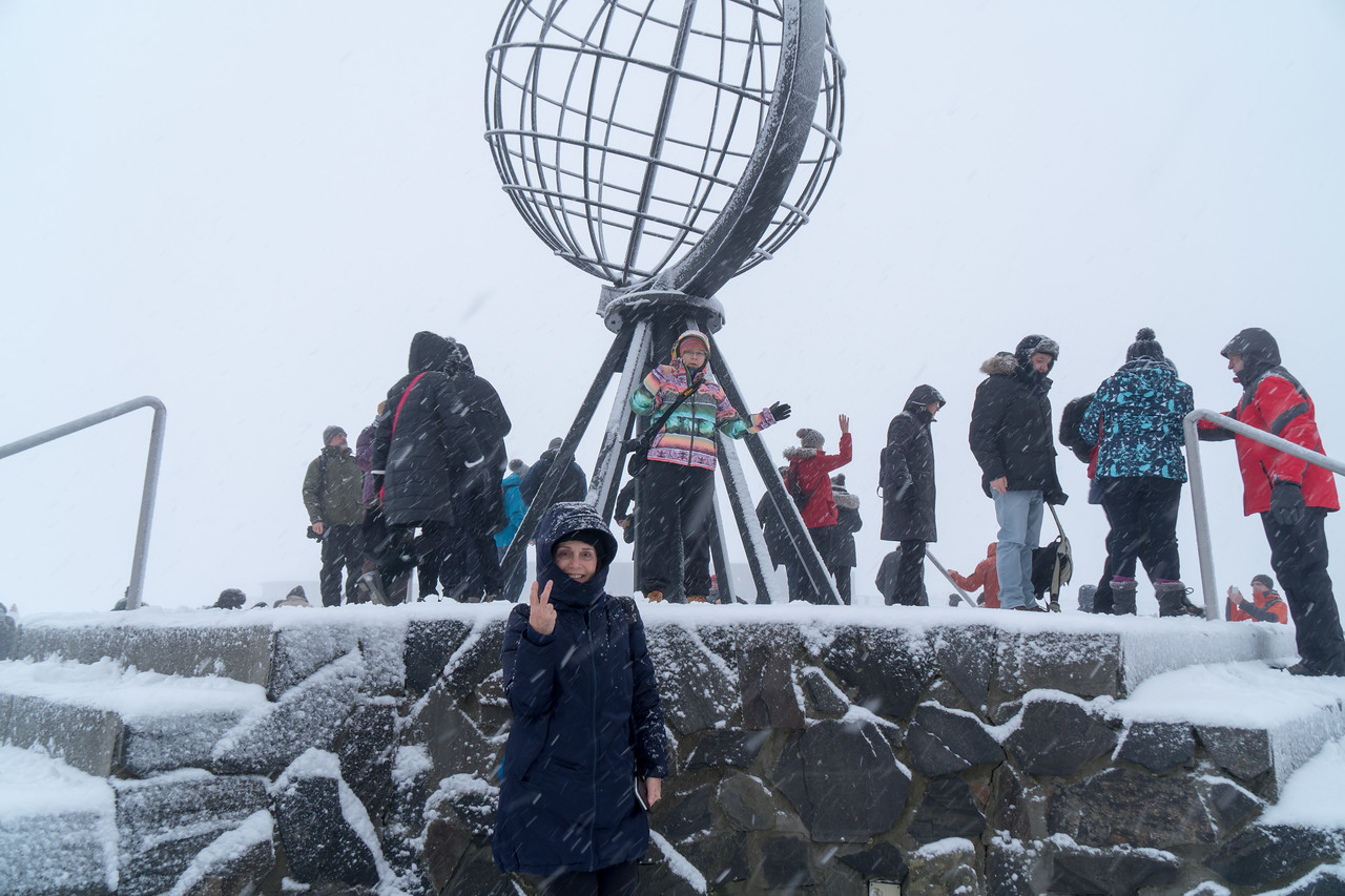North Cape - Northern Most Point on European Continent