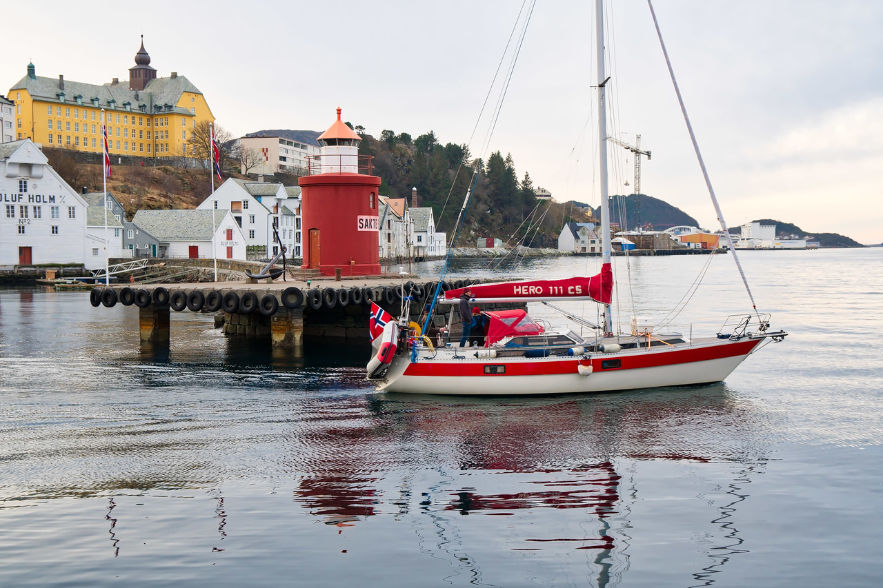 Slesund Harbor