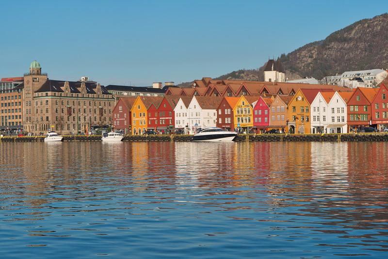 Bergen  -  Bryggen District