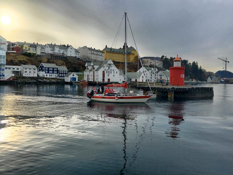 Alesund  Harbor - (courtesy DM)