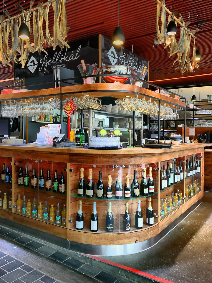 Bergen - Fish Market - Smoked Fish Bar