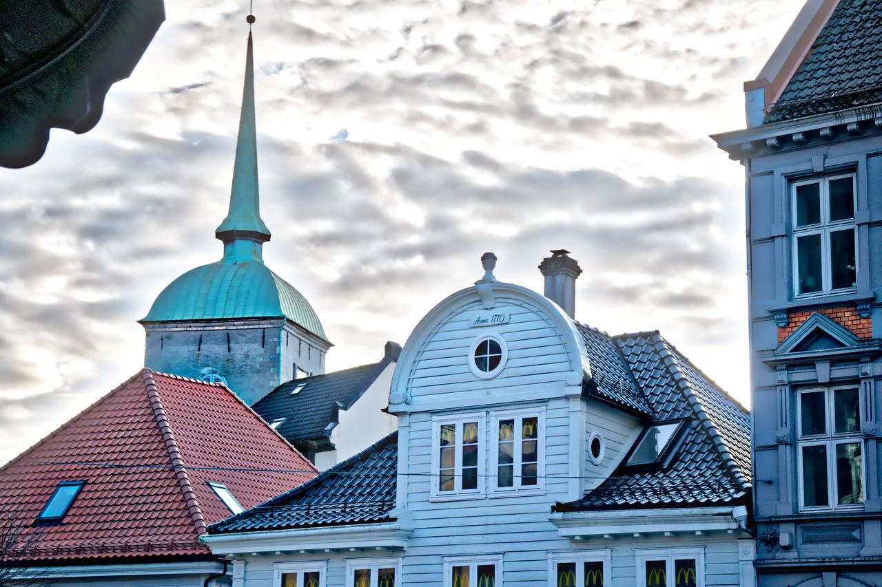 Bergen - Roofscape