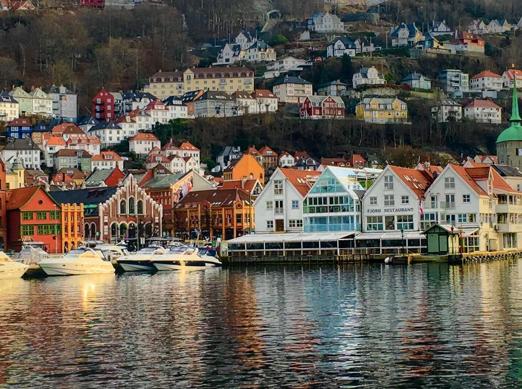 Bergen  Waterfront - (courtesy DM)