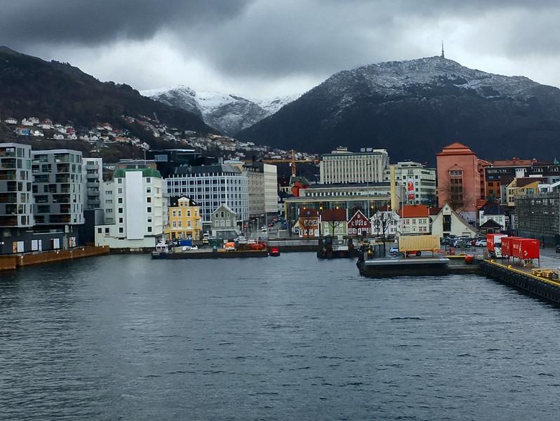 Bergen - Docking Back in Bergen