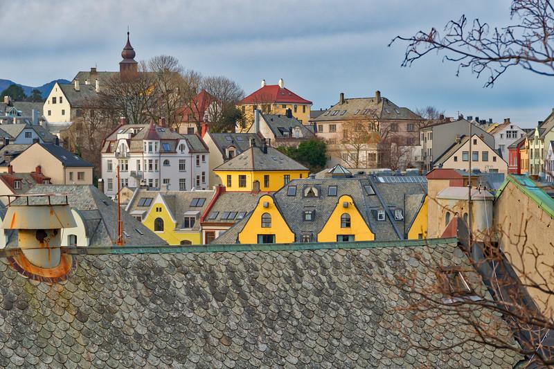 Alesund  - Roofscape