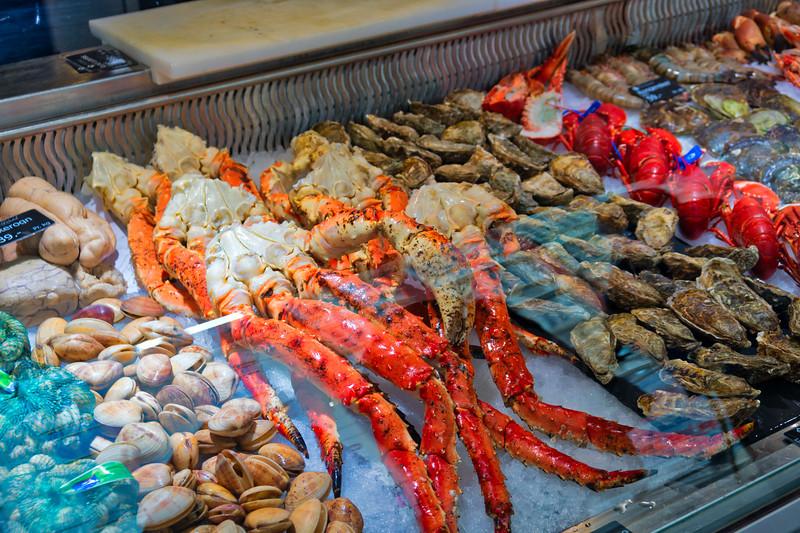 Bergen - Fish Market - King Crab Legs