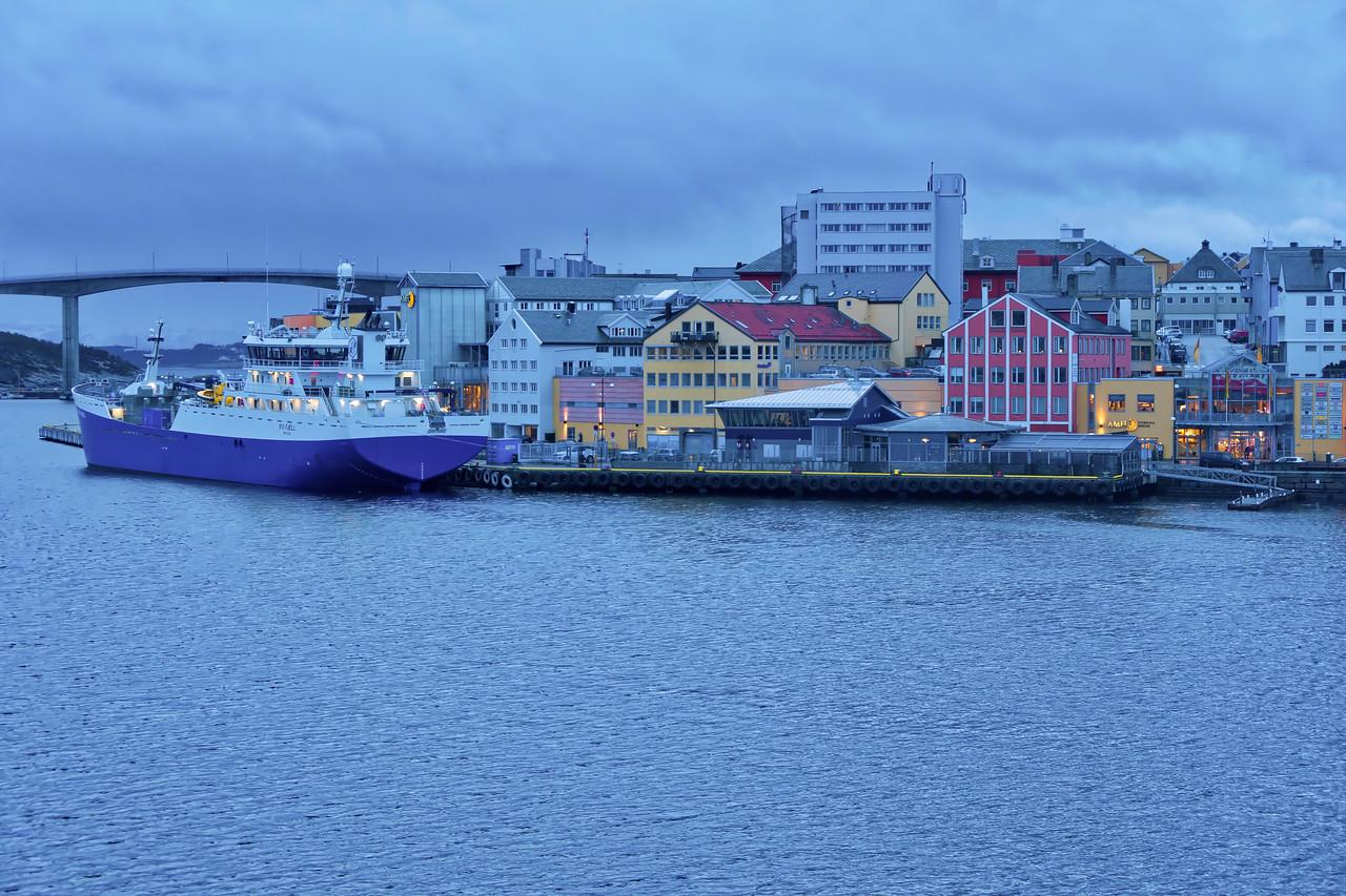 Leaving Kristiansund