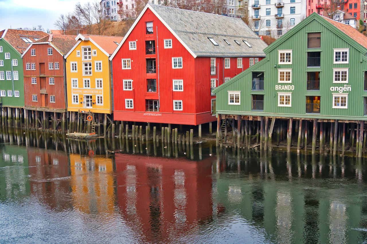 Trondheim - Bryggenne District