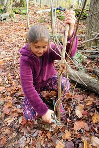 IMG_6337 sadie boulbol removes sapling from trail