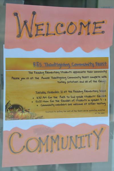 Reading Community Thanksgiving, 2017
