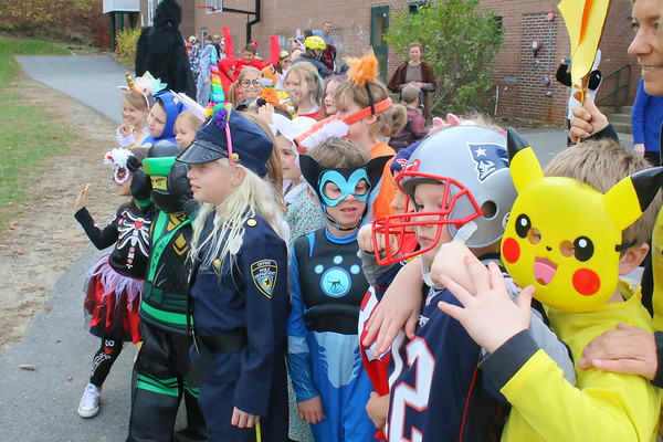 WES Halloween Parade, 2017