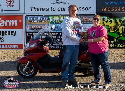 Rick Pitzer, Glenwood, IA, Diesel Services Inc/Ray's Garage Bike/Sled Runner Up
