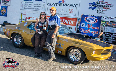 Carly Jo Ellingson, Rapid City, SD , 2017 NHRA  All Access Challenge Pro ET Champion