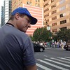 Our pedicab driver.  He was taking us to Central Park.