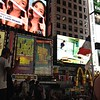A sampling of the signs in Times Square