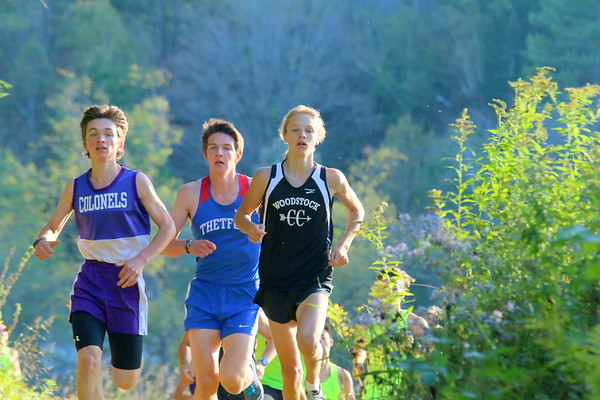 WUHS Cross Country Meet, 2017