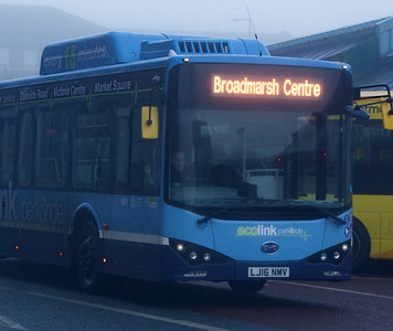 Nottingham Community Trannsport 981, Victoria Bus Station Nottingham, 07-01-2017