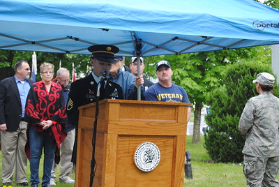 Leah McDonald - Oneida Daily Dispatch The Oneida Memorial Day ceremony and parade on Friday, May 26, 2017.