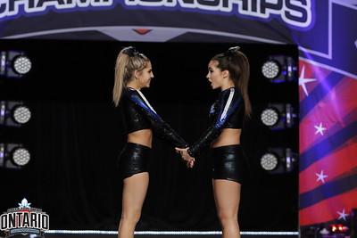 Cheer North Academy Senior Duo 3