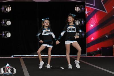 Cheer Sport Sharks Mini Duo 2