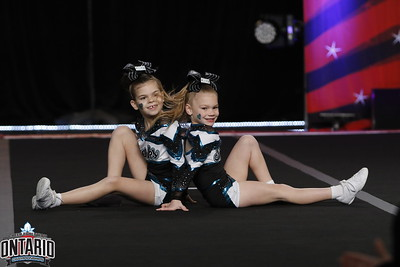 Cheer Sport Sharks Tiny Duo 1