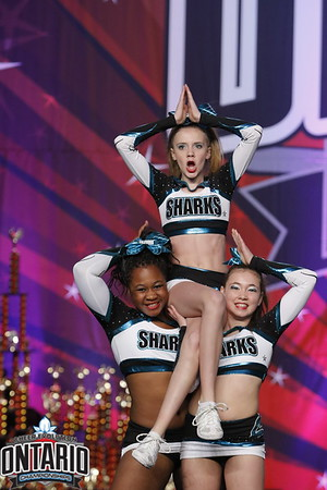 Cheer Sport California Sharks Sm Senior 1 - R2